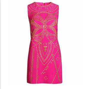 Versace for H&M Pink Gold Studded Dress NEW 2